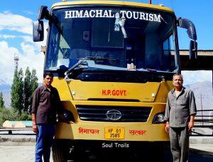 Delhi, Leh Bus