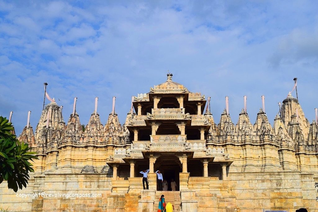 Hain Temple, Ranakpur, Rajastha, India, Monument