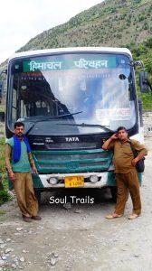 Leh Bus, HRTC, HPTDC
